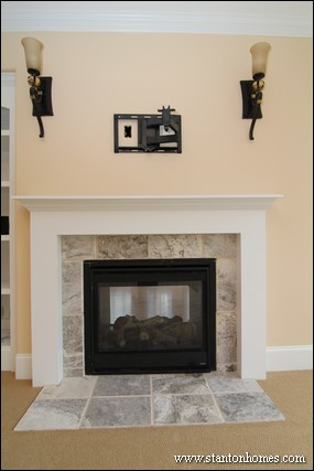 2014 Fireplace Design Ideas Photos Of Double Sided Fireplaces