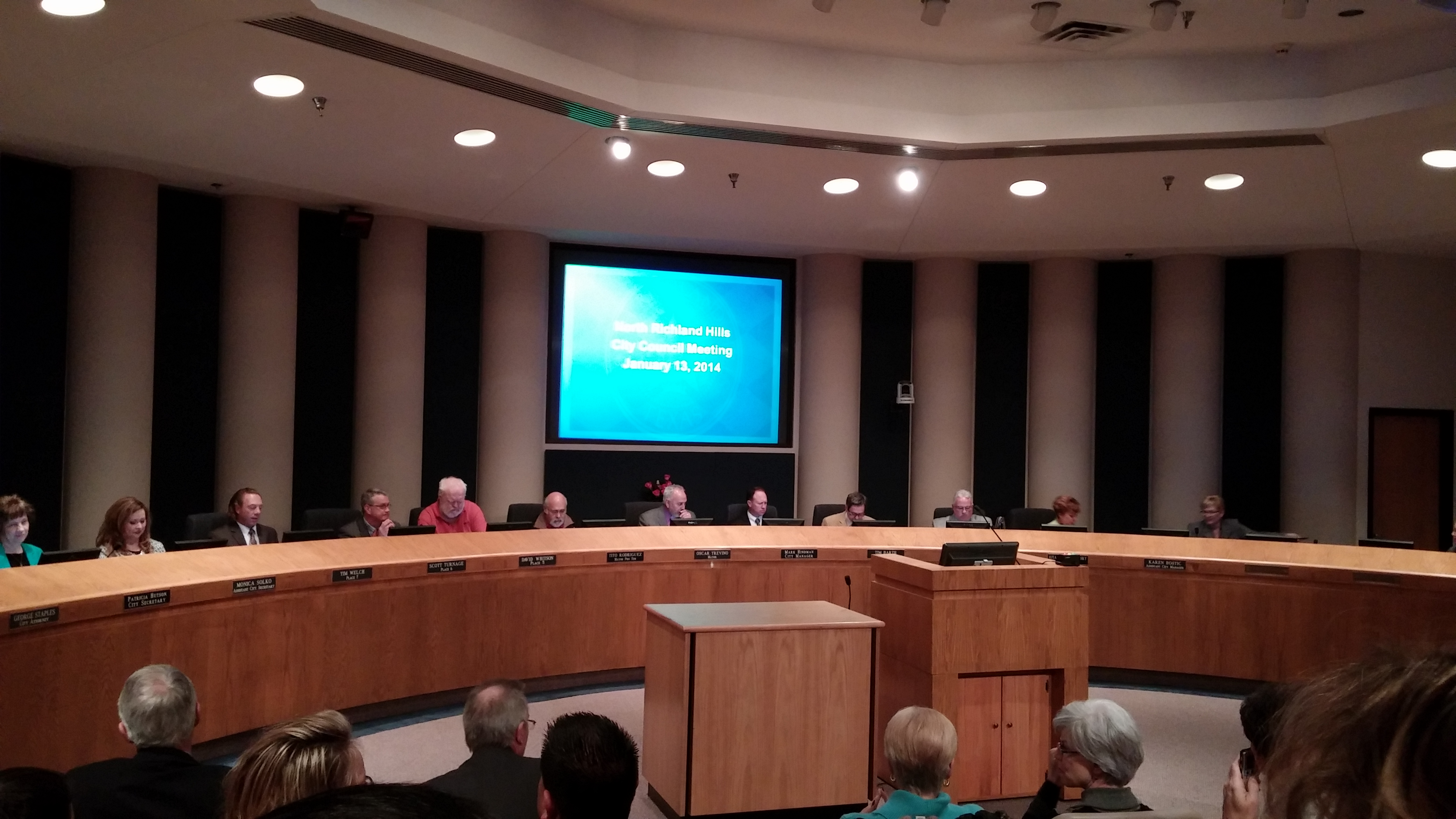 North Richland Hills City Council meeting