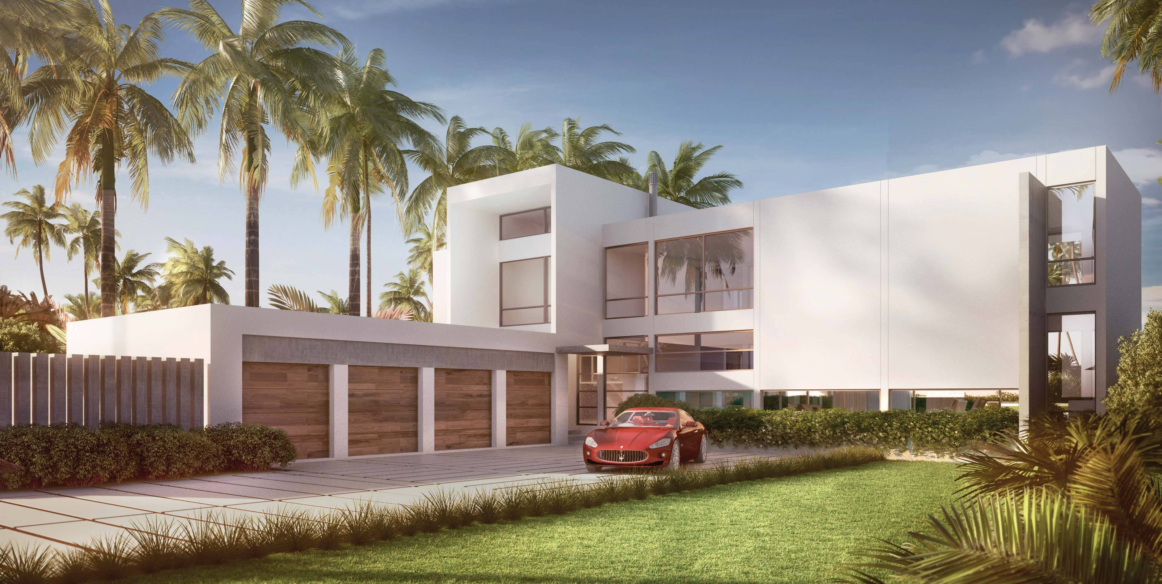 New construction in weston fl for Modern homes florida