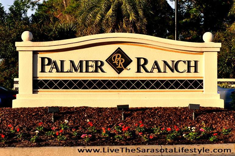 Palmer Ranch Entrance Monument At Mcintosh Road and Tamiami Trail Sarasota Florida