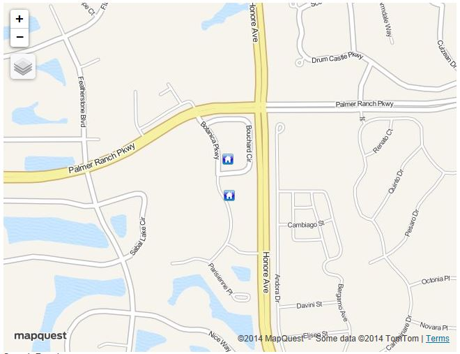 Map Of Condos For Sale In Botanica On Palmer Ranch In Sarasota Florida 34238
