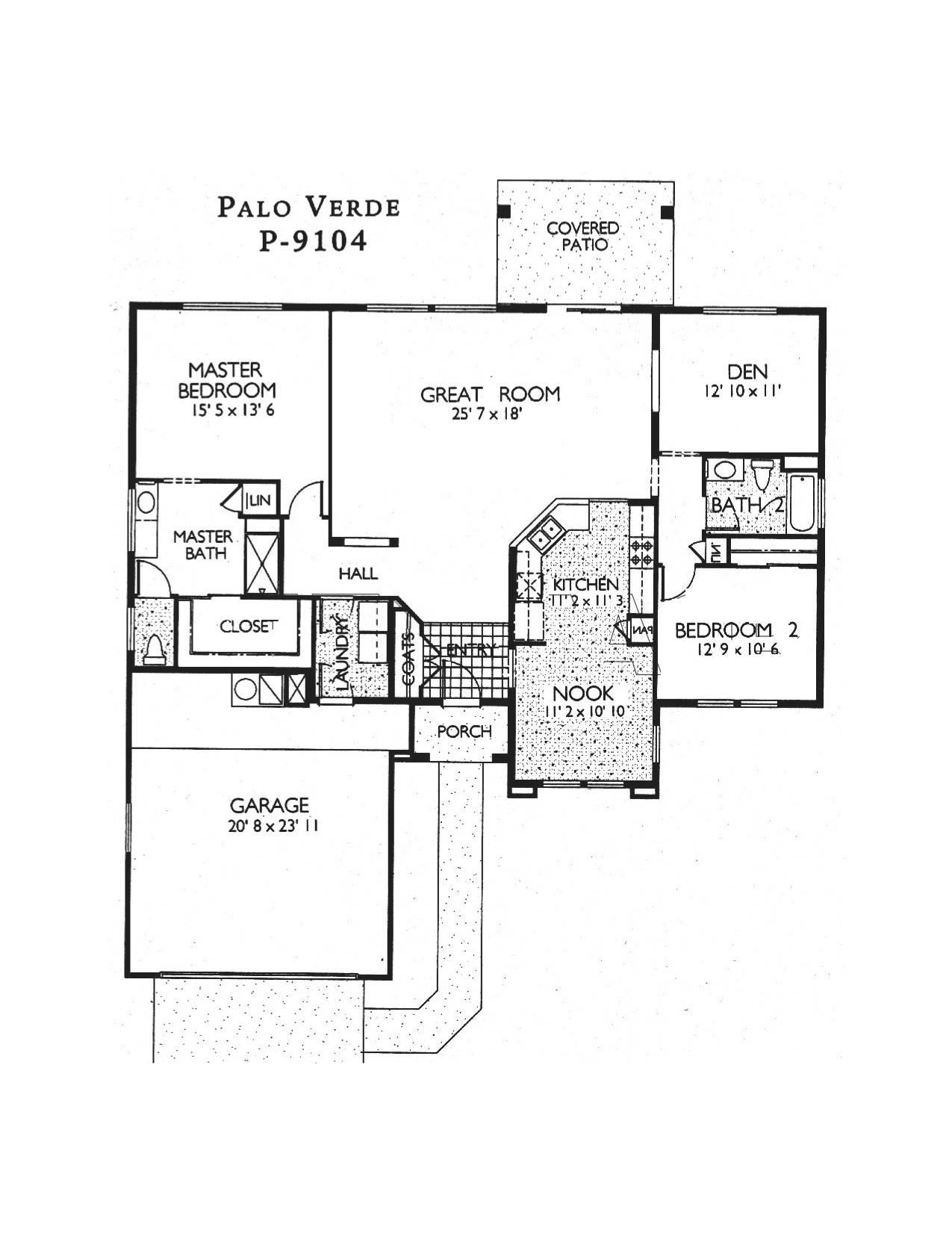 Sun city grand palo verde 15842 w kino dr surprise 8537 for Palo verde homes floor plans