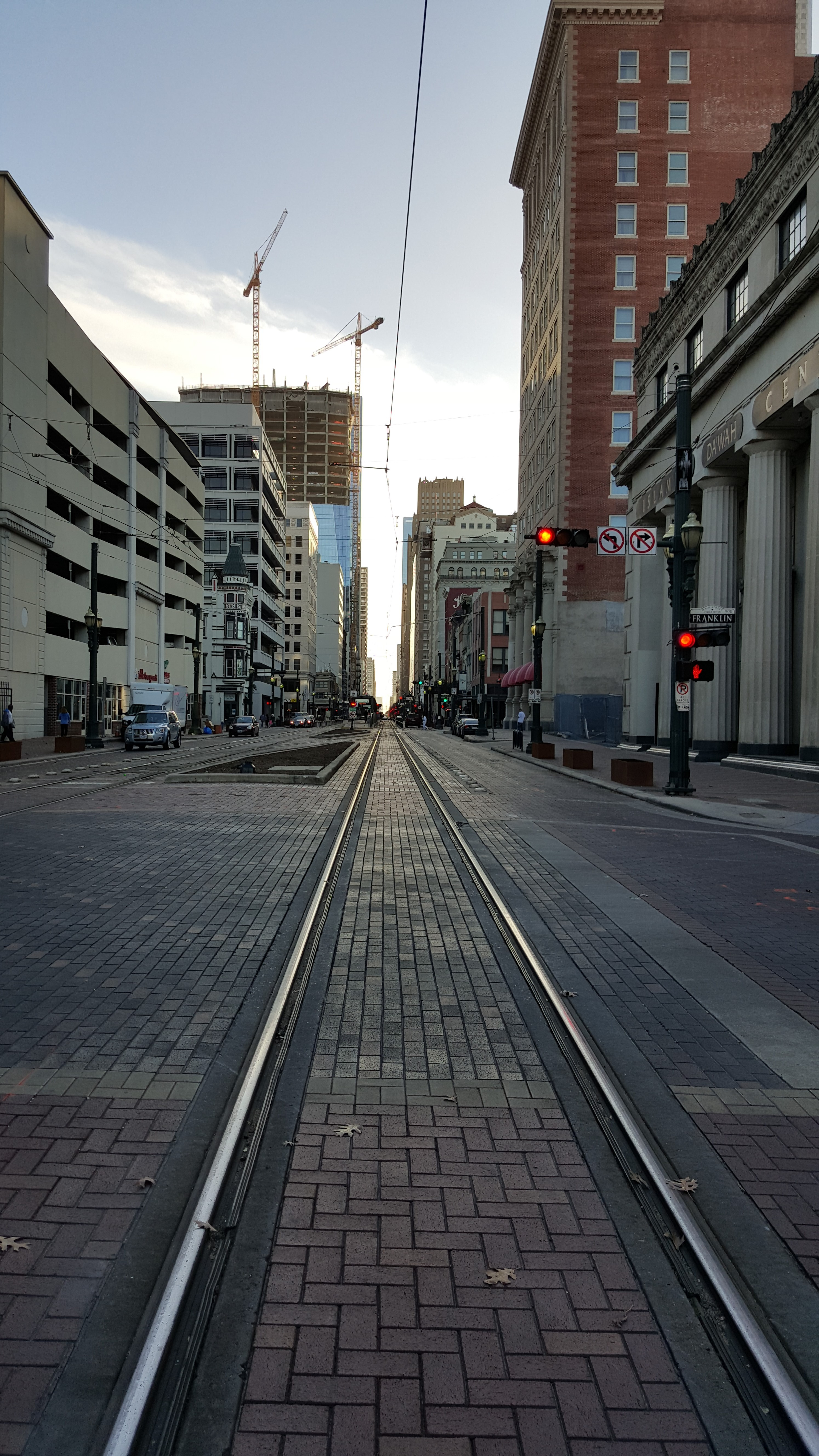 Downtown Tram Rail Road