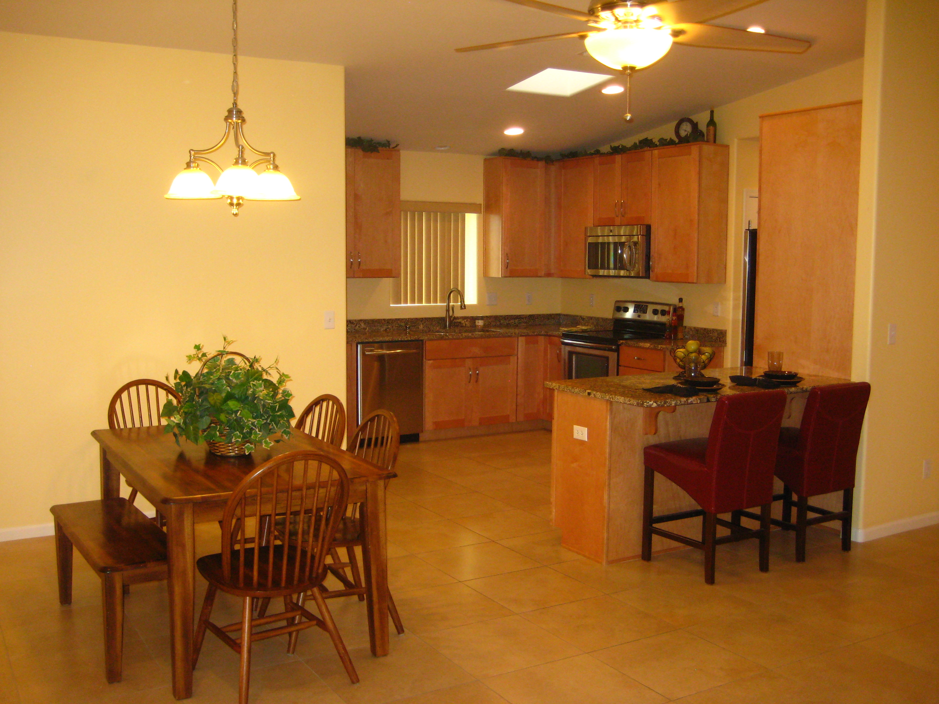 this ranch comes with three bedrooms all with new carpeting in 2011
