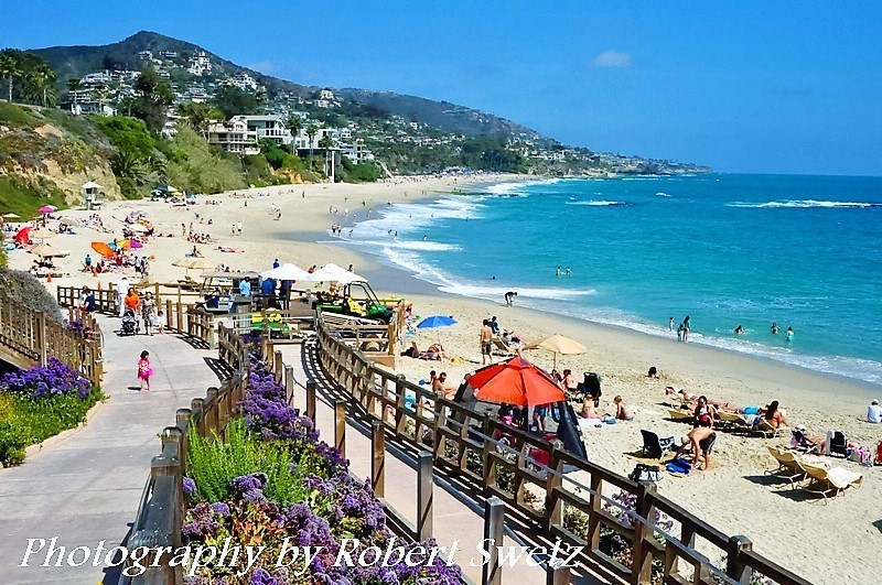 Laguna Beach by Robert Swetz