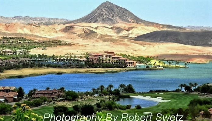 Lake Las Vegas by Robert Swetz