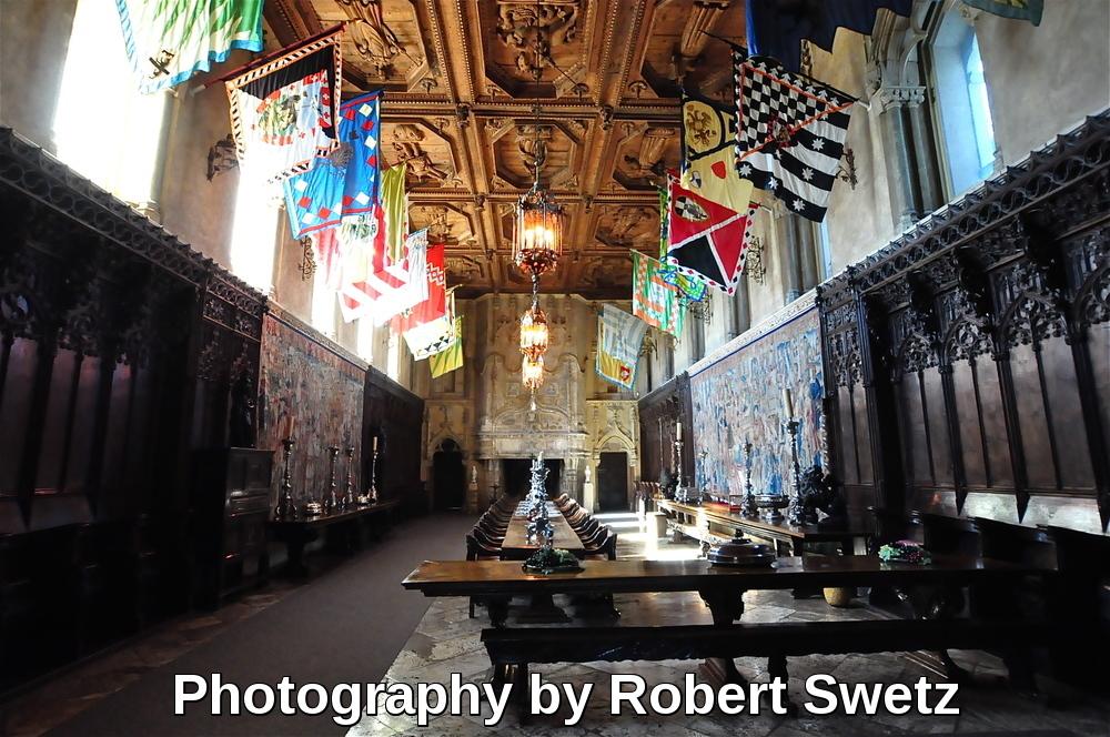 Hearst Castle by Robert Swetz