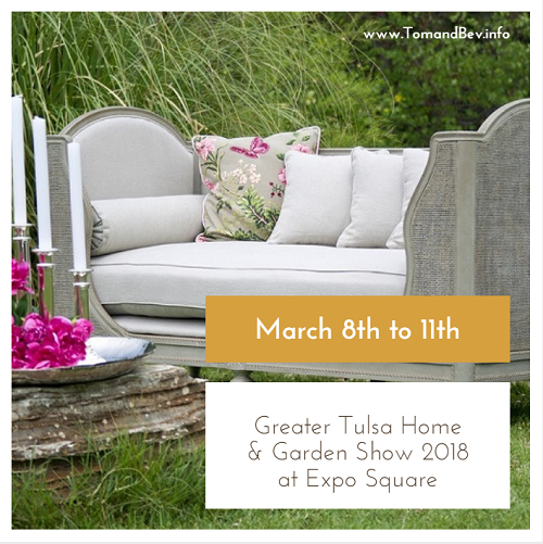 Get great ideas for your home improvement projects at awesome discounts during the Greater Tulsa Home and Garden Show 2018 on March 8th through the 11th.