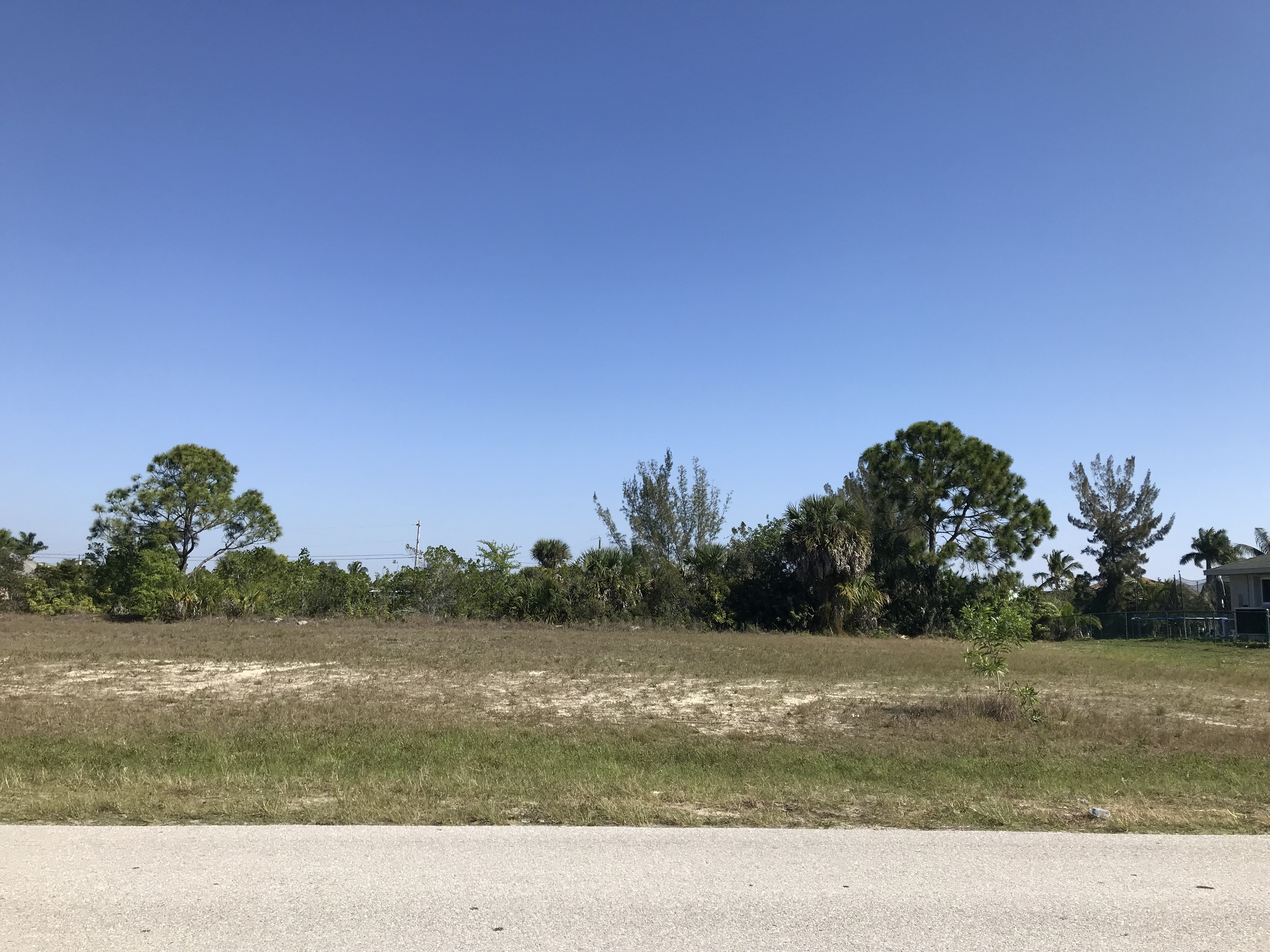 Gulf Acces lot in Cape Coral