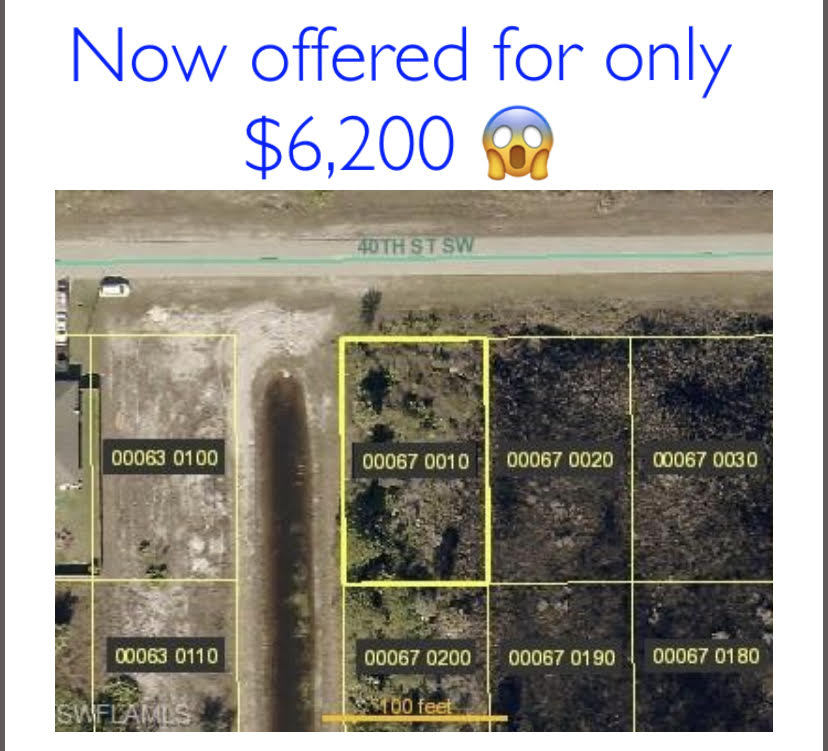 Lot for sale in Lehigh Acres FL