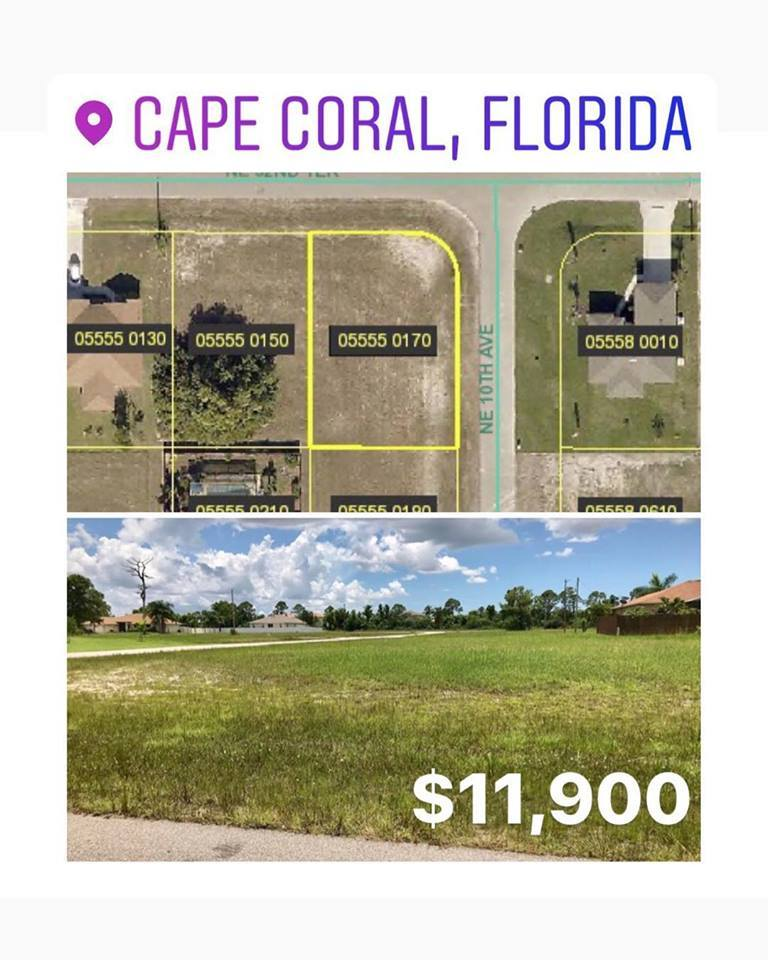 Great Buildable Lot For Sale In Beautiful Cape Coral Fl