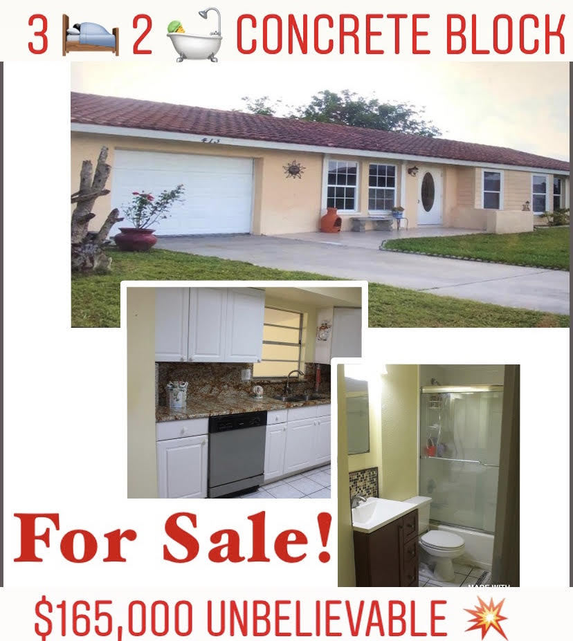 home for sale in cape coral fl under 170