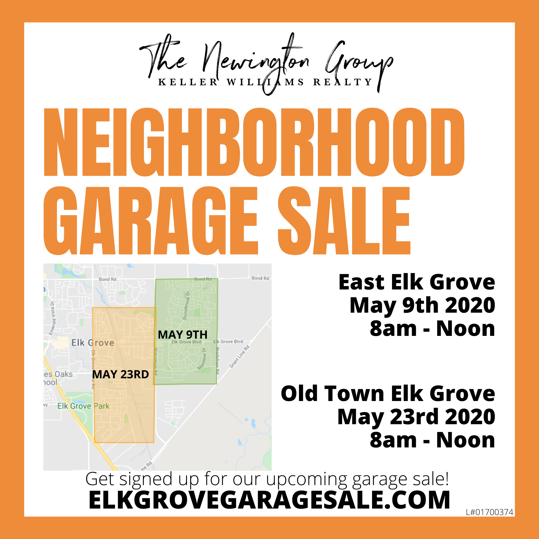 elk grove garage sale