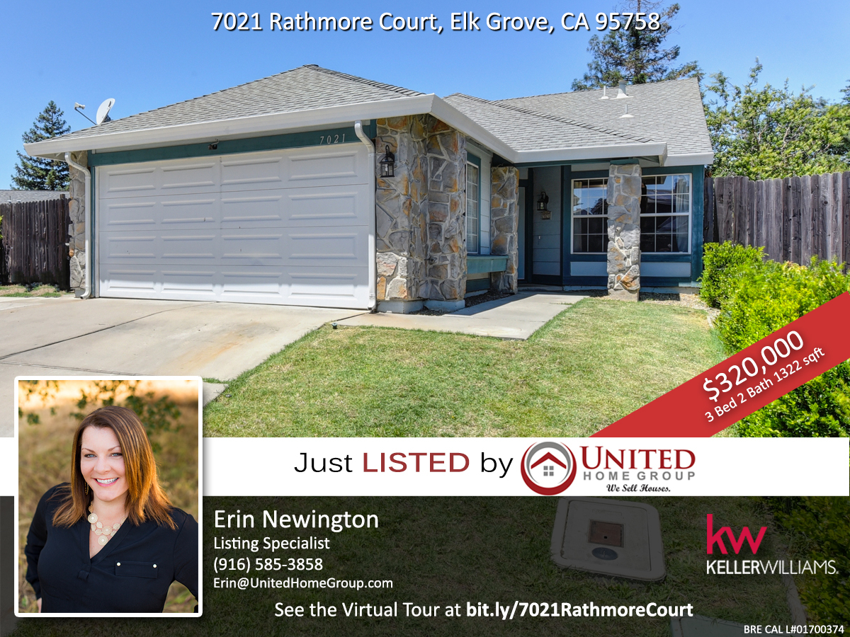 Just Listed For Sale Elk Grove Home With A Pool