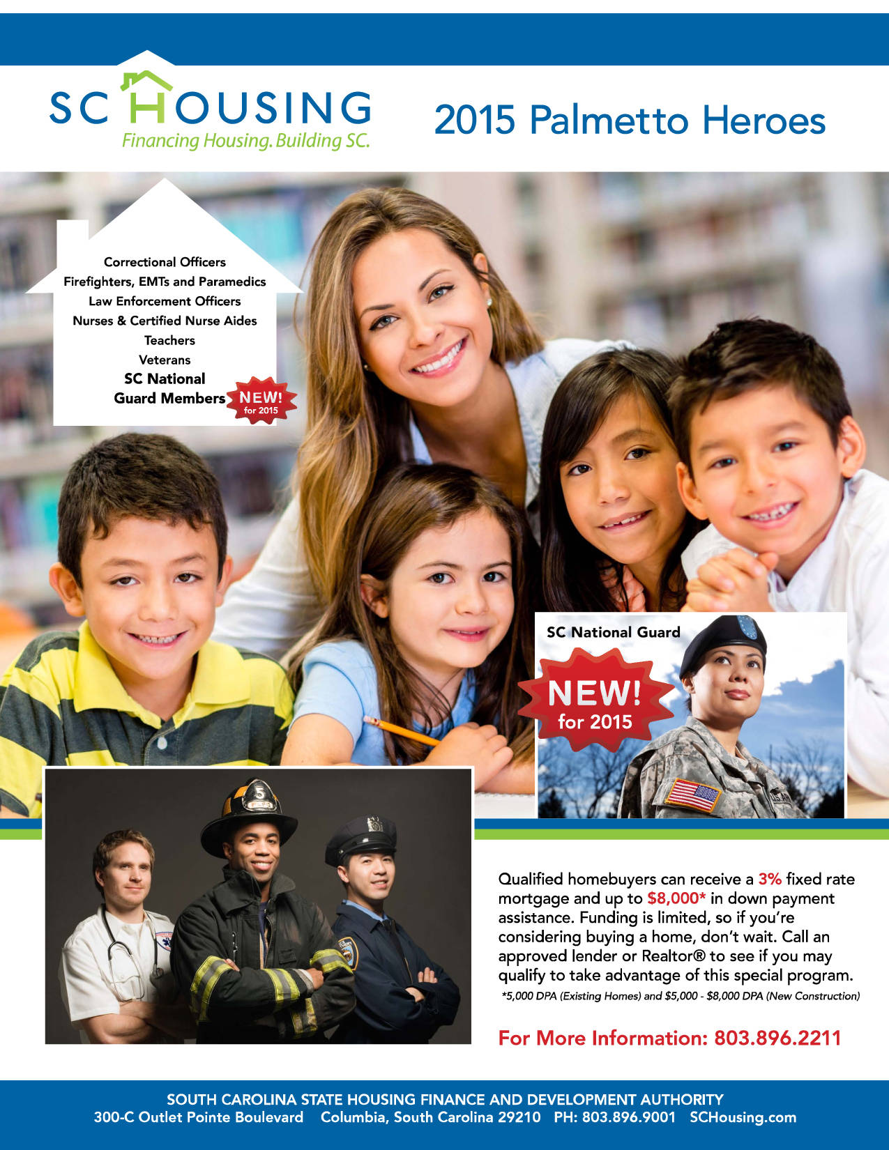 SC Palmetto Heroes Housing Assistance is BACK!