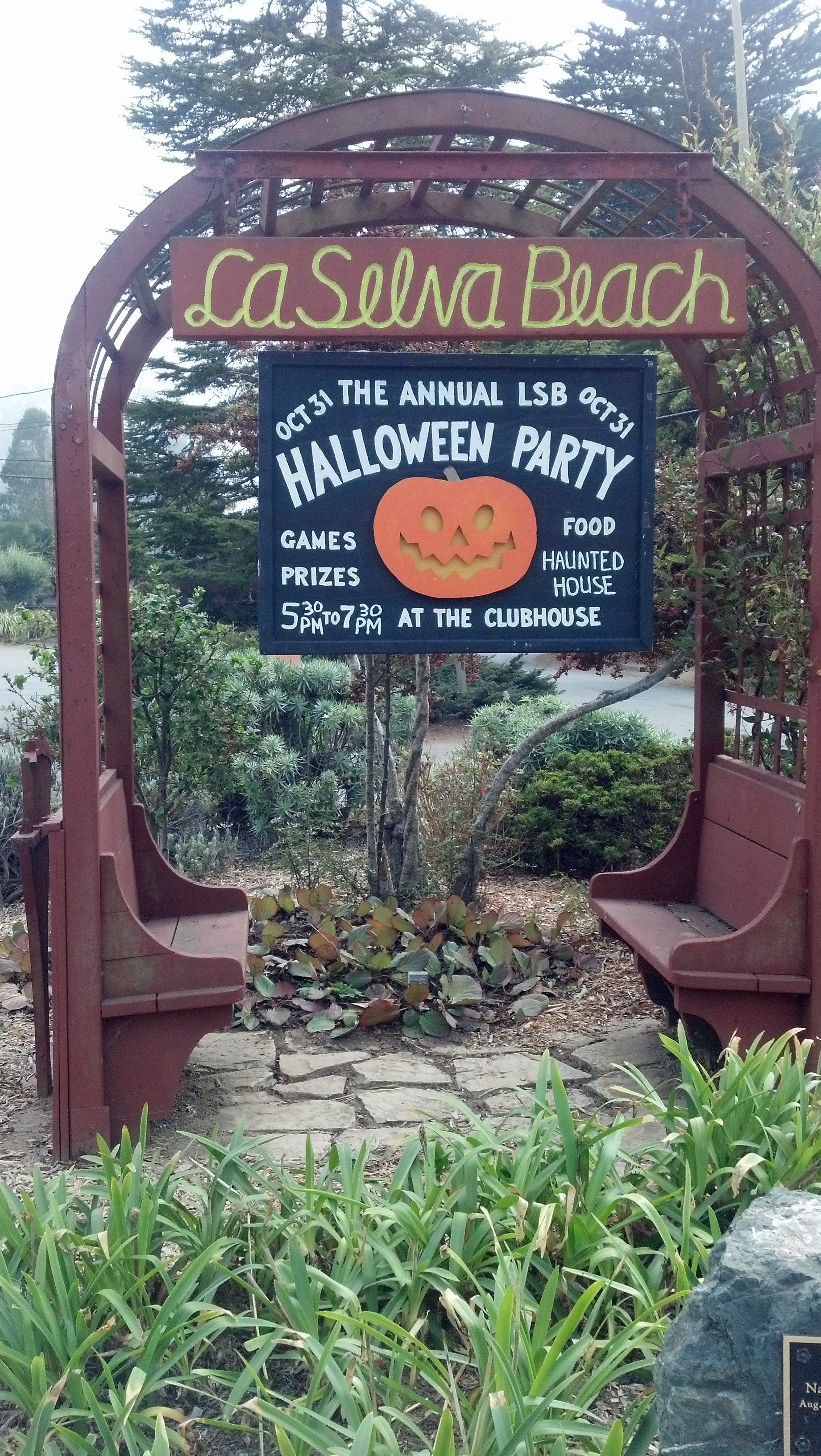 A Haunted House In La Selva Beach Ca