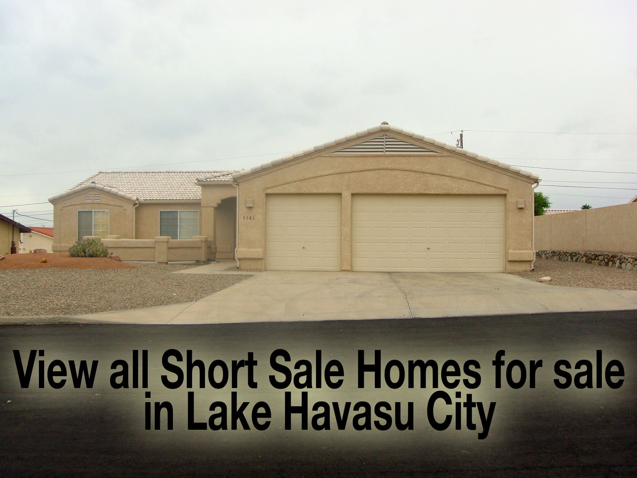 Wow Only 7 Short Sales Available In Lake Havasu City