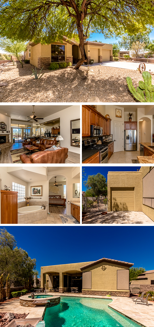 Home for sale in the refuge at lake havasu for Pool show 5168