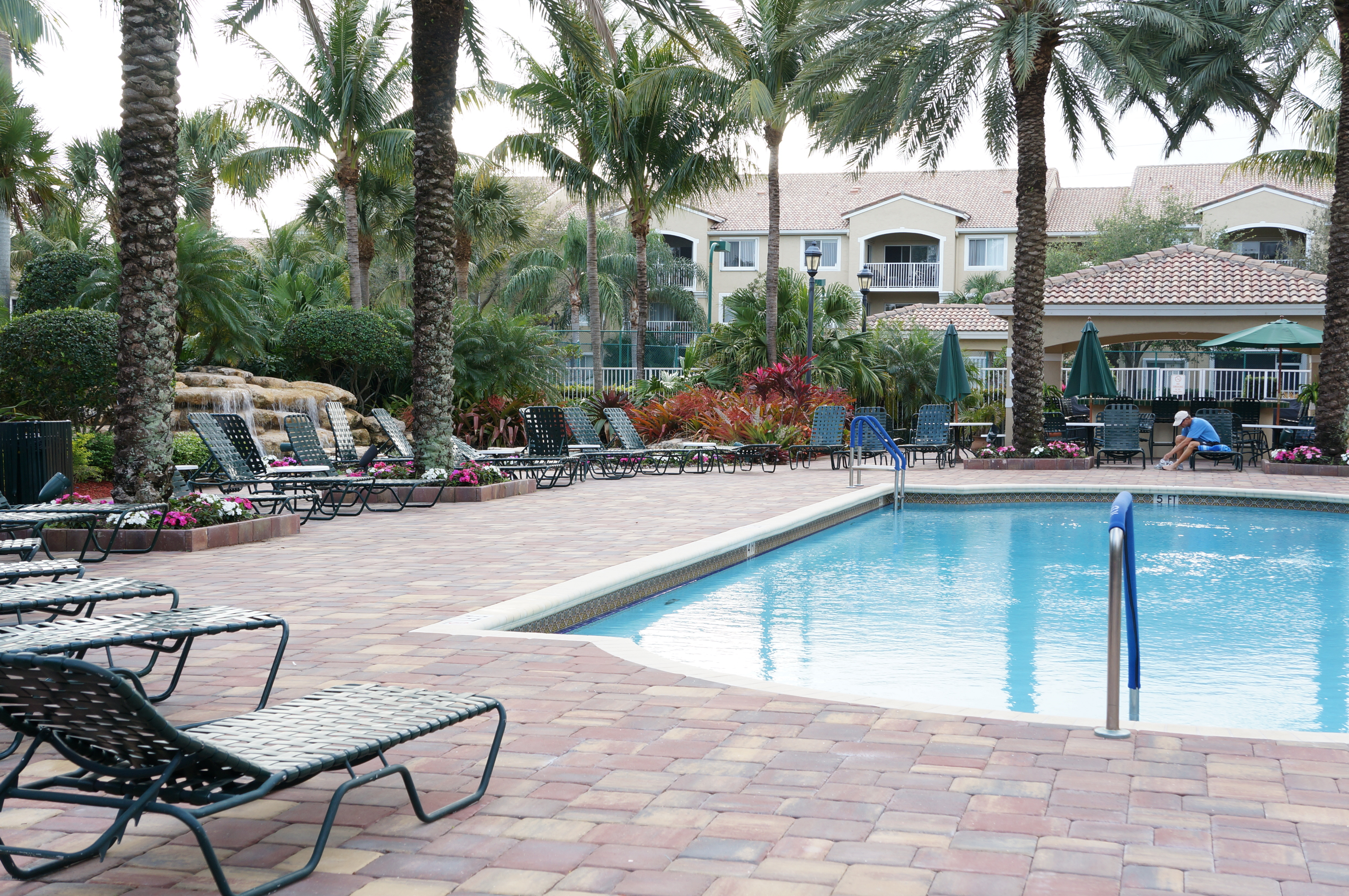 Lighthouse Cove community pool Tequesta