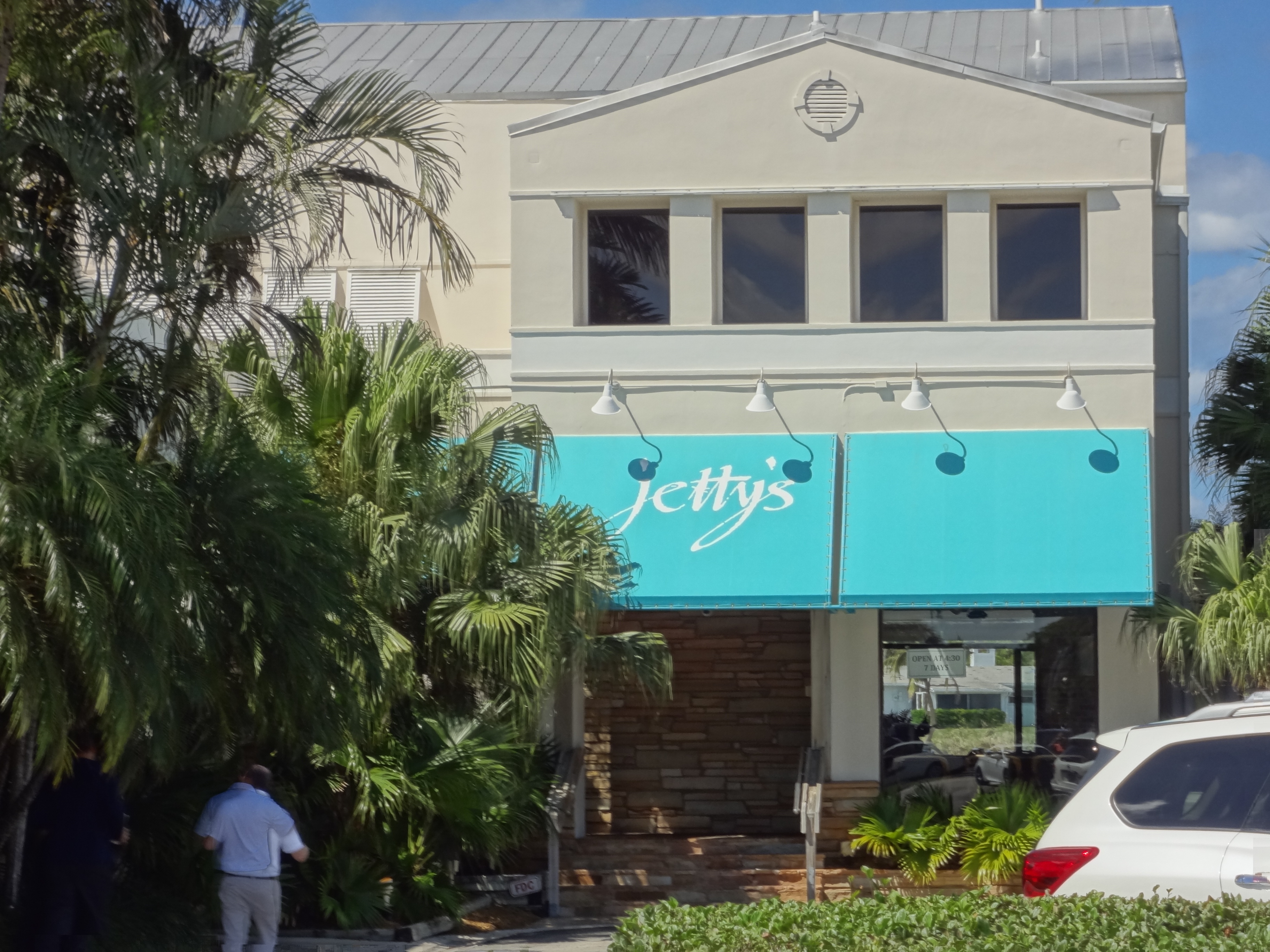 Jetty's waterfront dining Jupiter FL