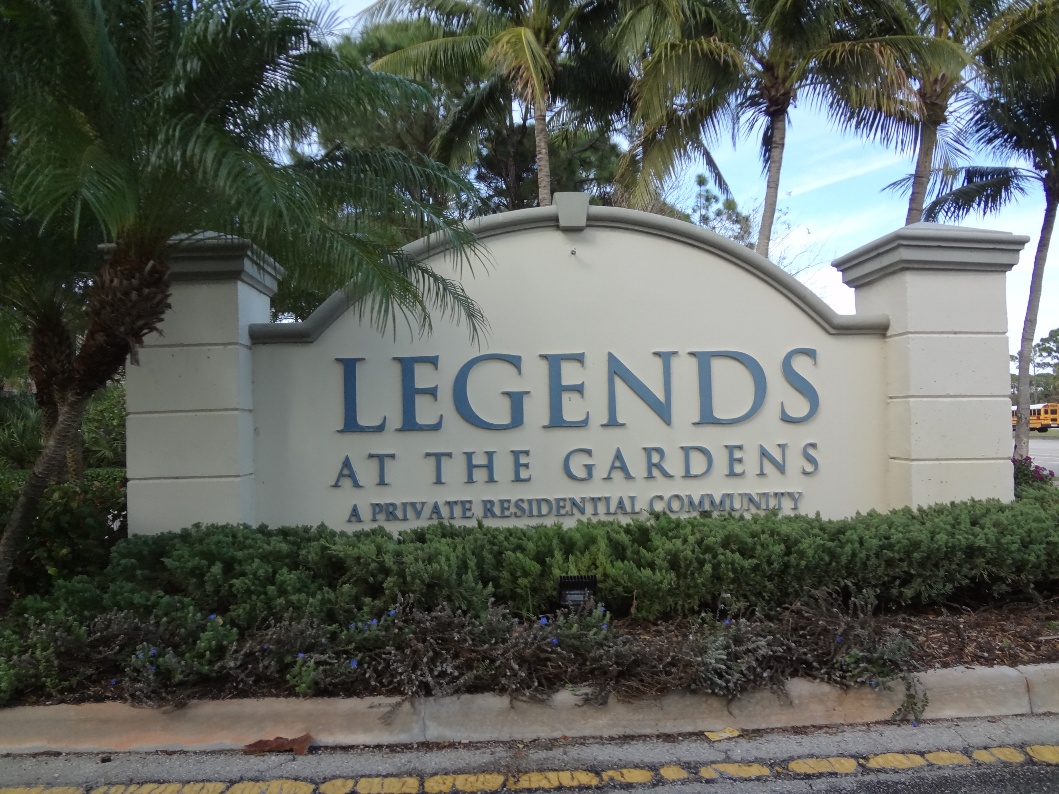 The Legends townhomes in Palm Beach Gardens Florida