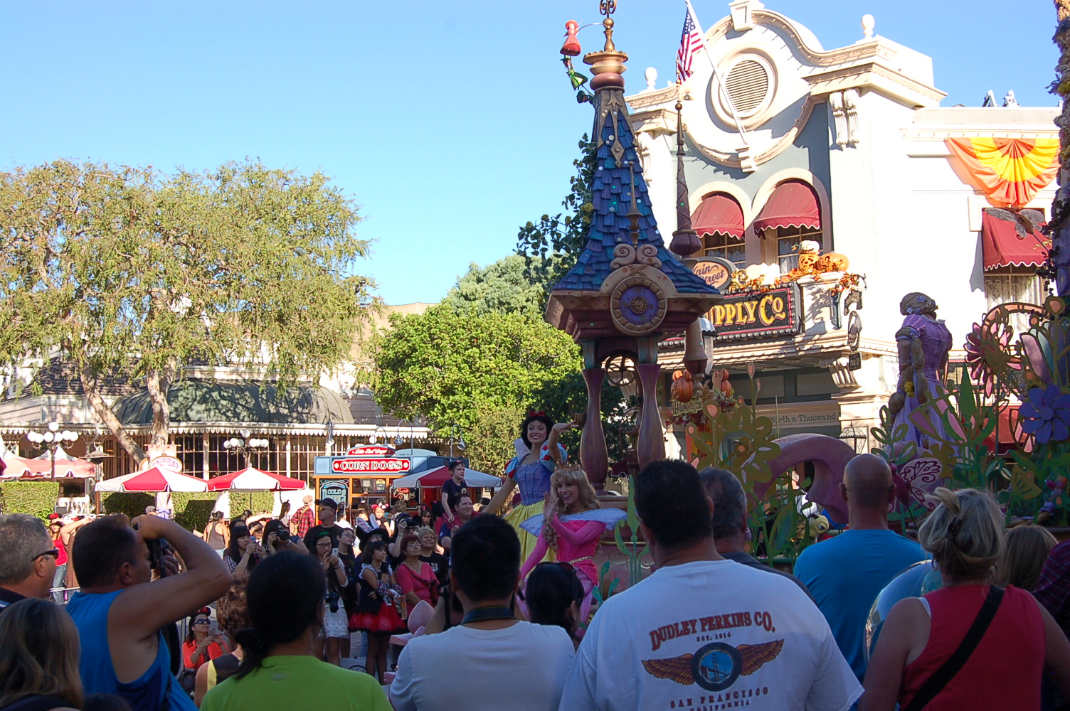 Parade at Disneyland