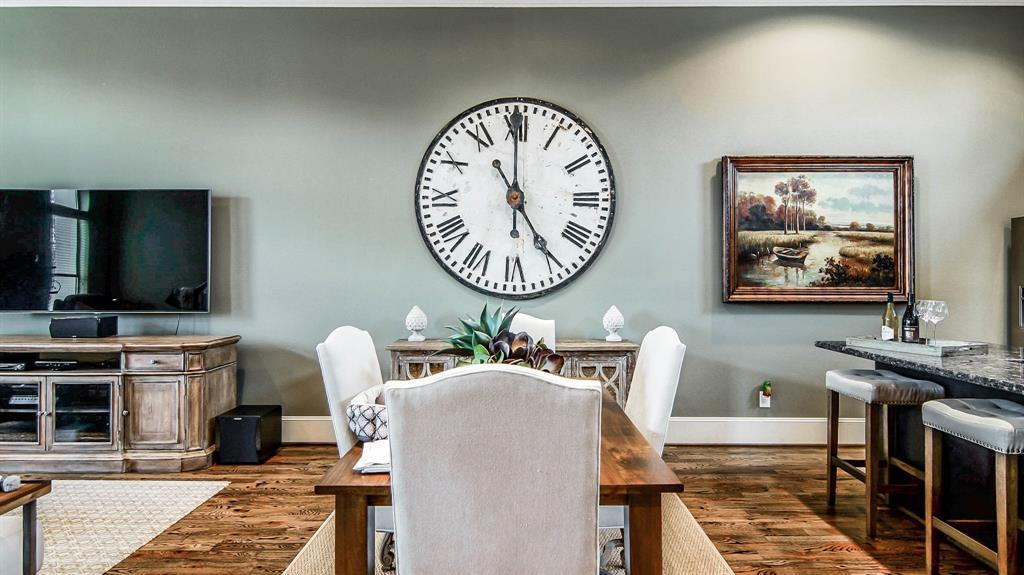 This Stunning 3 Story Townhome In Houston Is Full Of Style And Elegance.  Property Features Sumptuous Wood Flooring, High Ceilings, Crown Molding, ...
