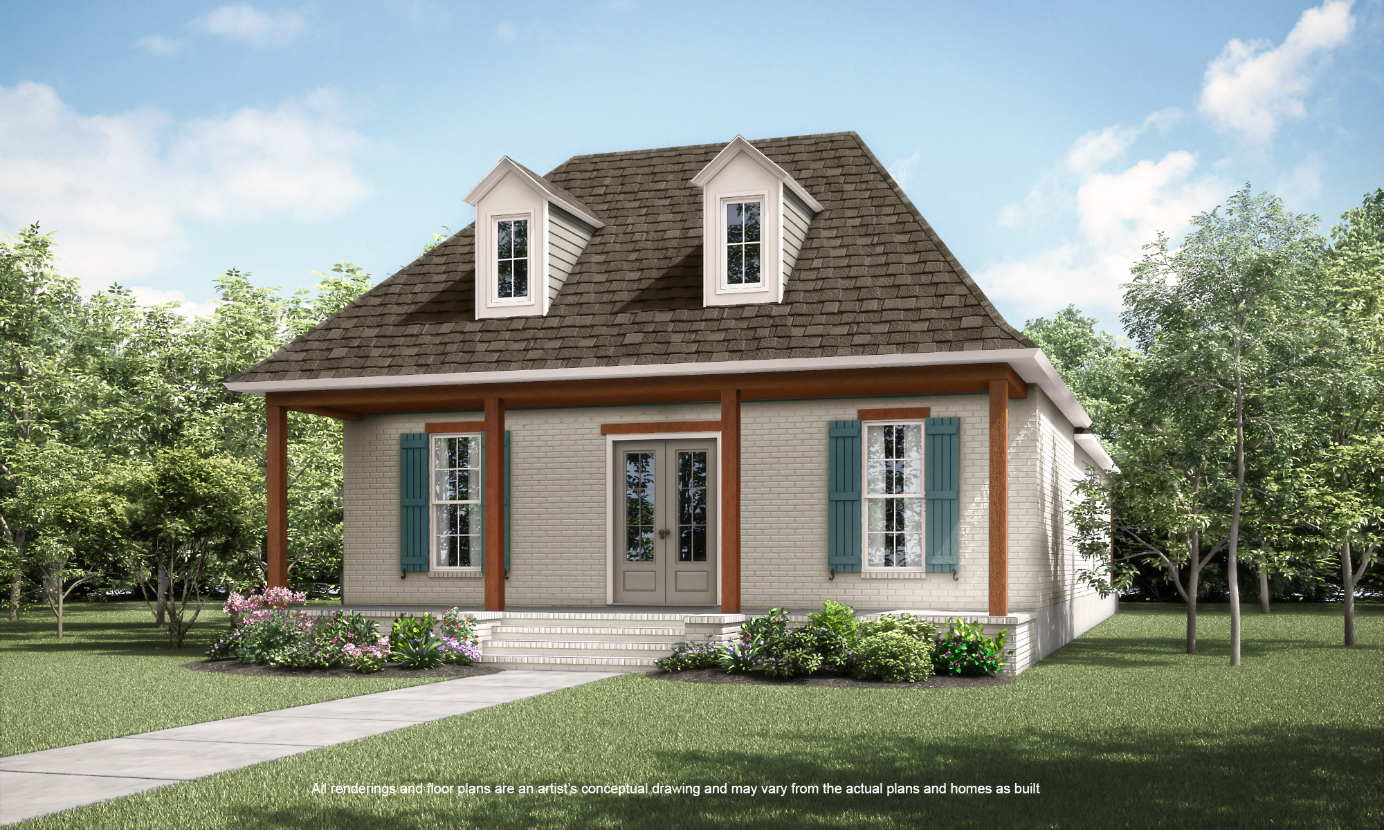 New construction in terra bella 112 poplar grove lane for House plans covington la