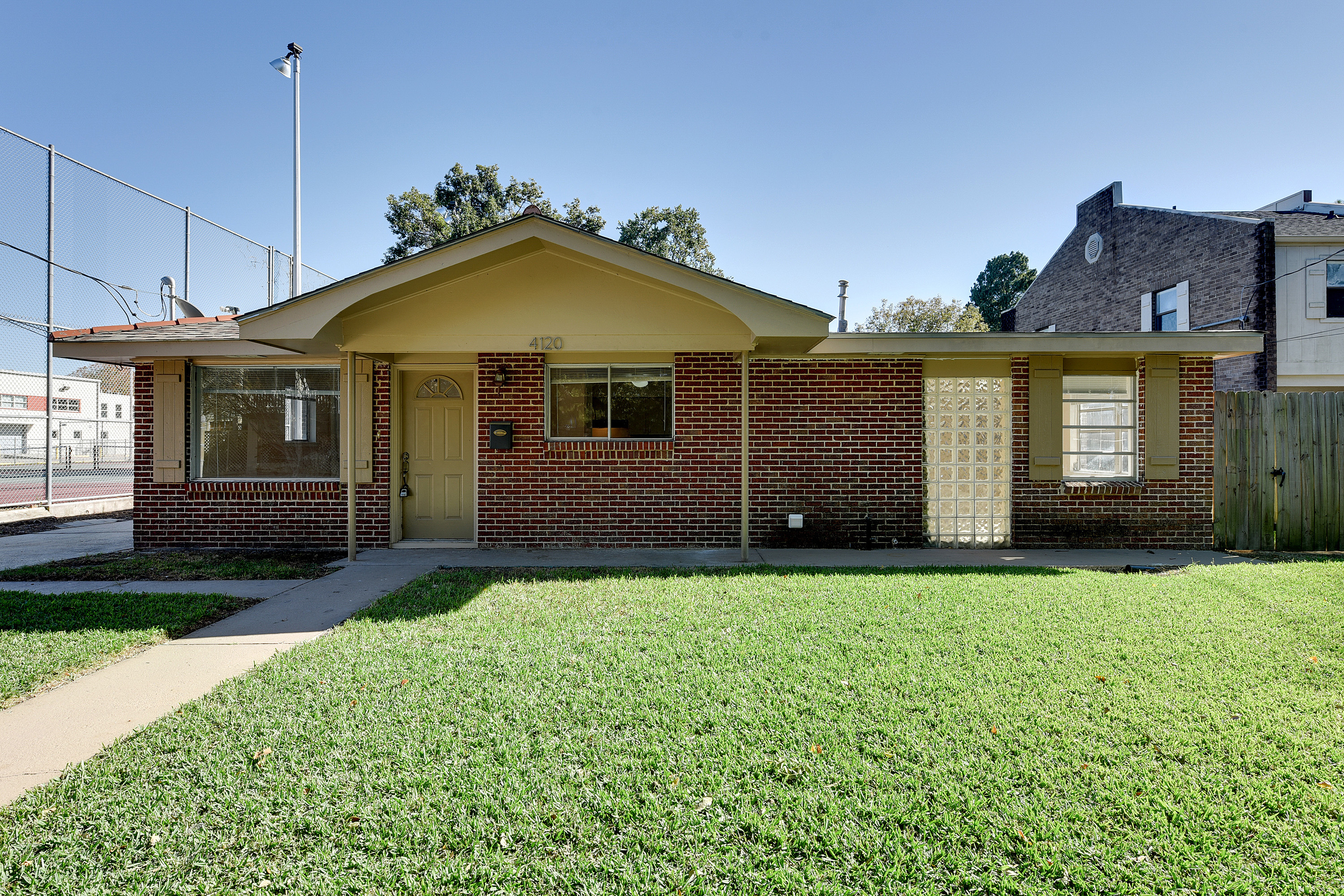 All brick and freshly renovated 4120 south drive for All brick