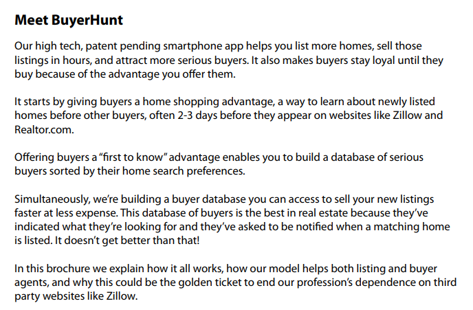 The Plan to Save Real Estate with BuyerHunt com