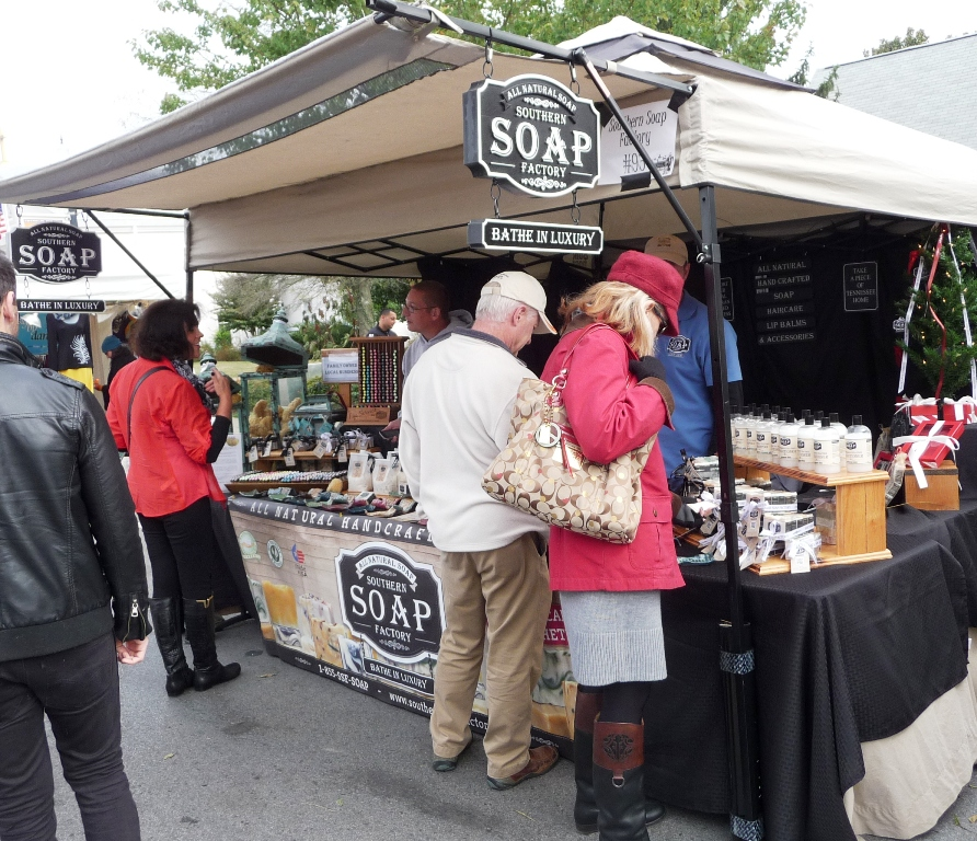 Southern Soap Factory at Pumpkinfest Franklin TN
