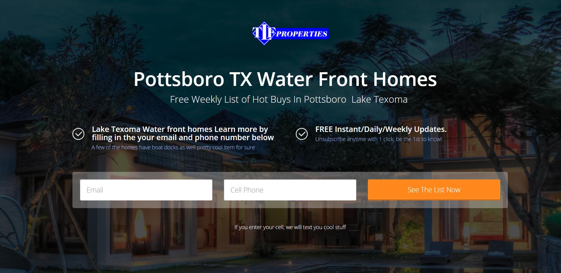 Tremendous Water Front Homes Lake Texoma Pottsboro Tx Download Free Architecture Designs Remcamadebymaigaardcom