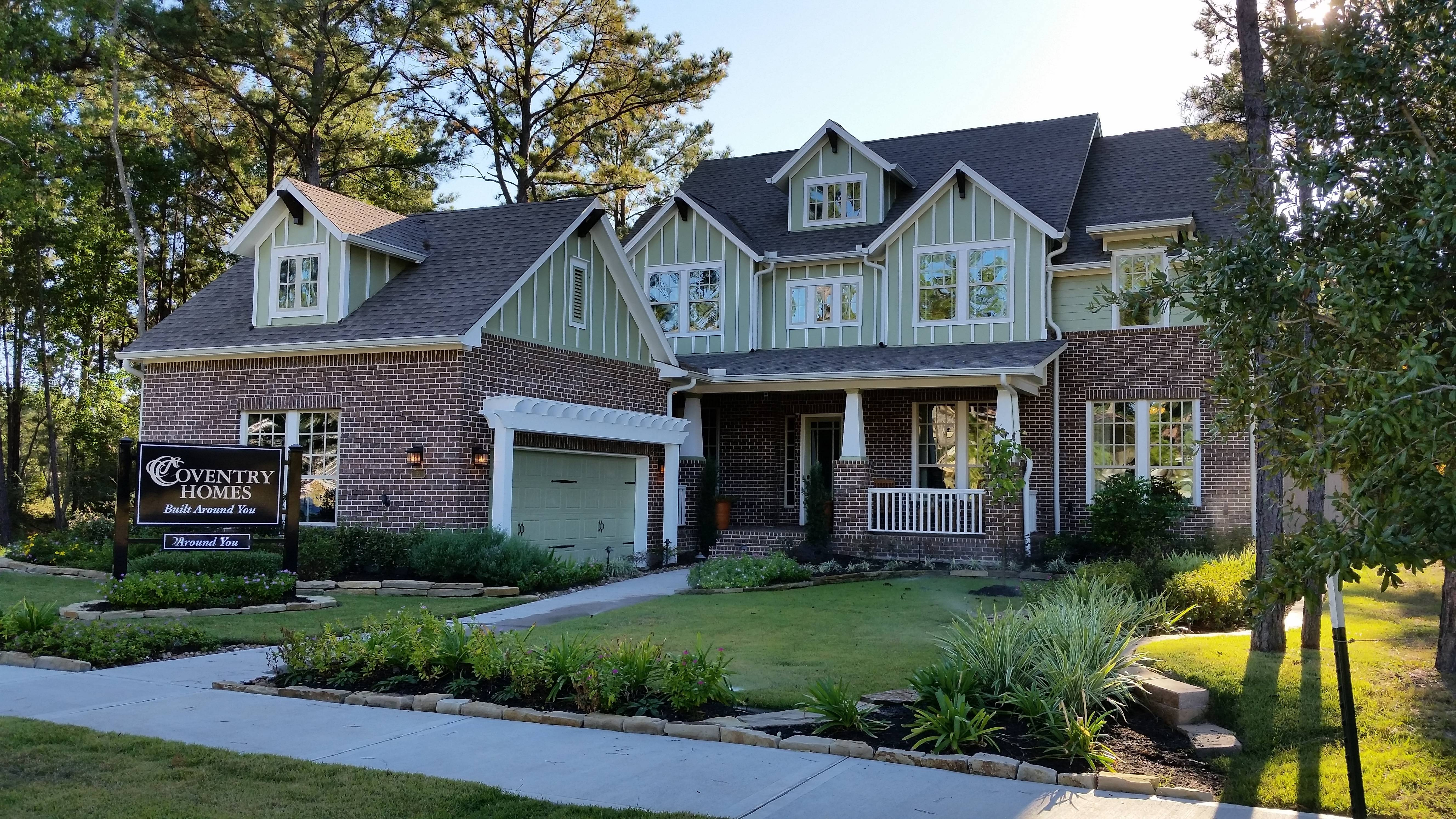 Luxury Homes In Creekside Park The Woodlands Tx