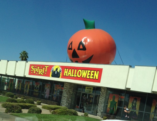 It Must Be October, The Halloween Stores are Here.