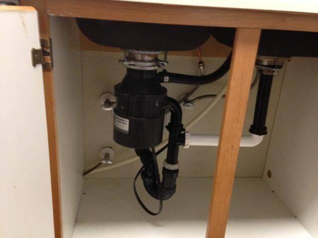 Leak In Wall Under Kitchen Sink In Rocklin Ca
