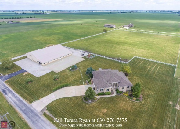 Horse Farm for Sale in Wilmington IL - Be the proud owner of this Wilmington IL horse property for sale.