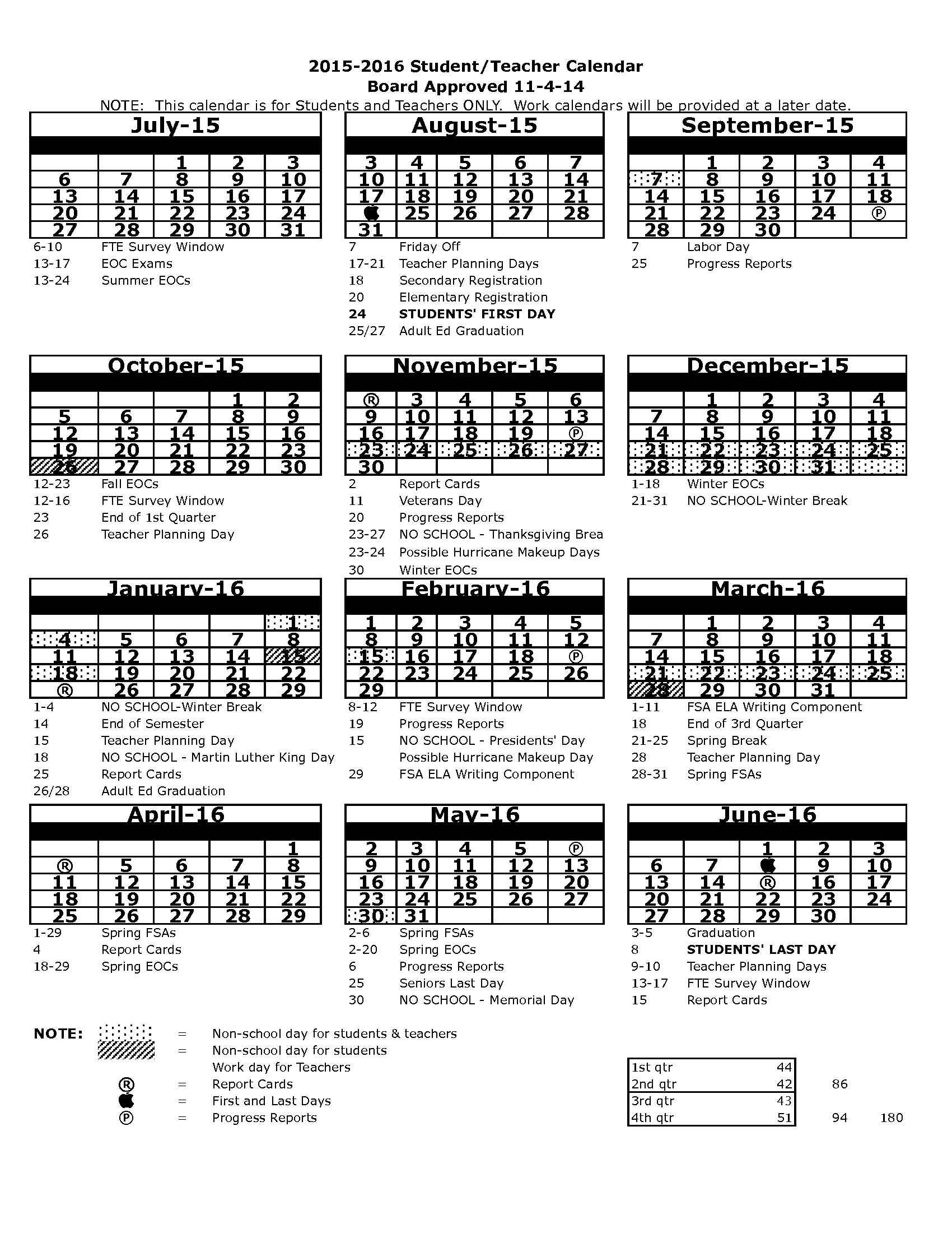 Pasco County Schools Start August 24
