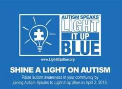 Blue For Autism Awareness