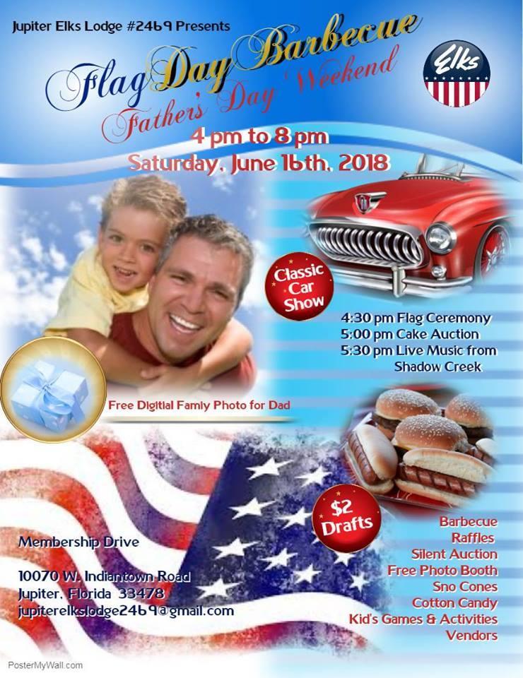 Jupiter Fl Flag Day And Fathers Day Celebration - Car show jupiter fl