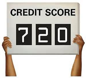 720 score is realistic even if you have poor credit