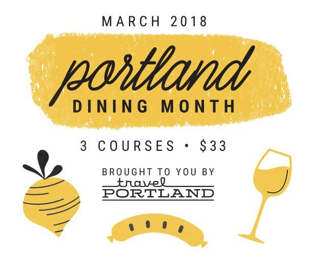 Portland Dining Month