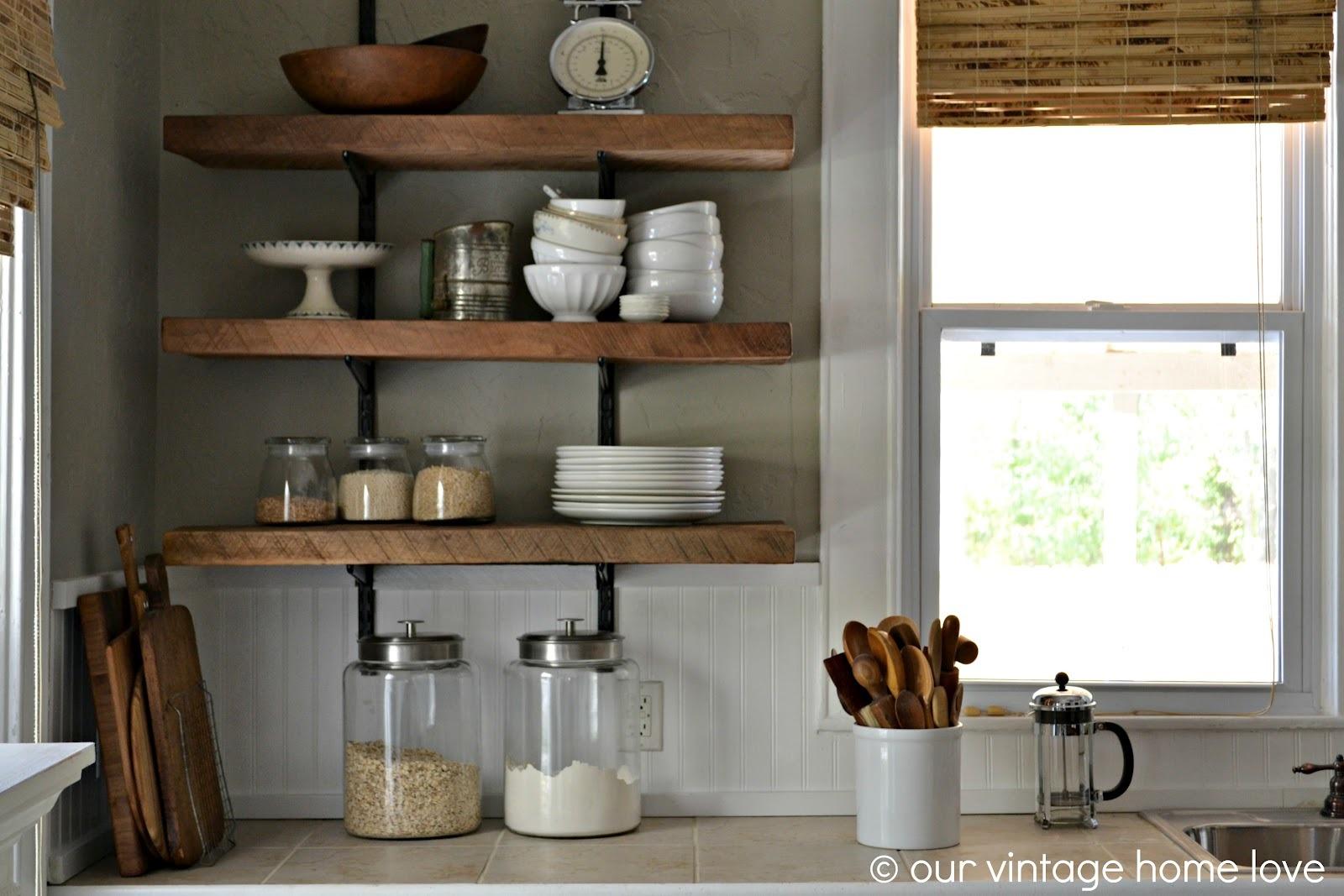 Shelves In Kitchen 4 Ways To Cut Kitchen Clutter