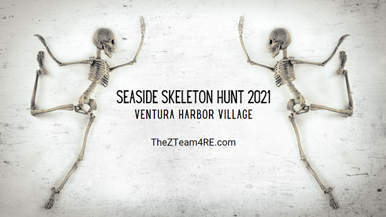 Looking for a unique way to celebrate Halloween in Ventura this year? Join the Seaside Skeleton Hunt in Ventura Harbor Village over Halloween weekend for your chance at a big Halloween prize pack.
