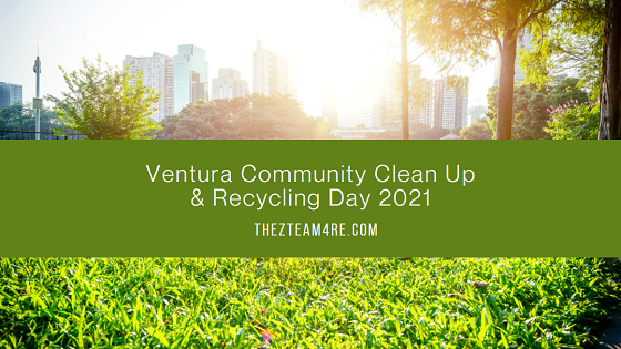 Get rid of your old furniture, appliances, mattresses, and more safely, securely, and for free during Ventura Community Clean Up and Recycling Day 2021.
