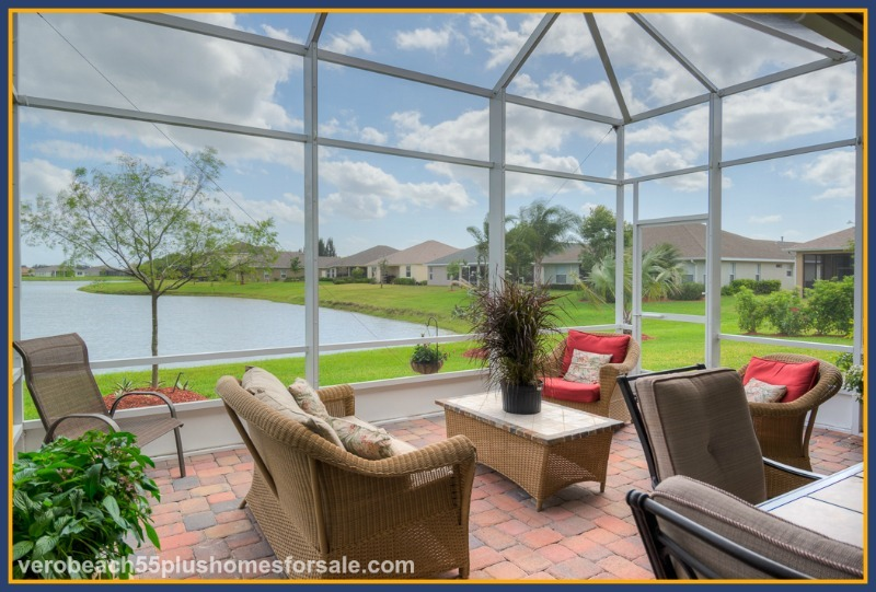 Have a relaxed retirement life in Vero Beach FL living in one of these lovely 55+ homes!