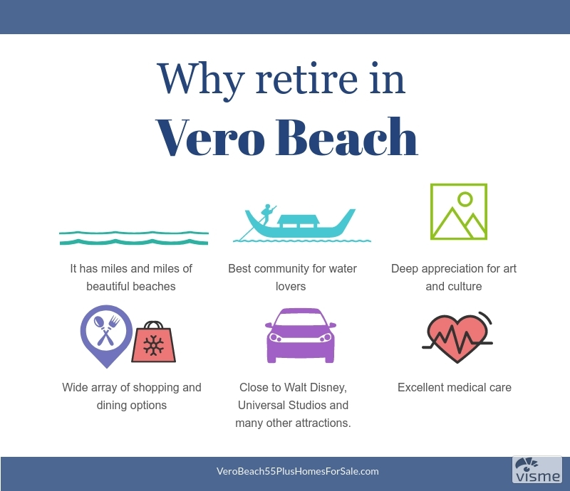 Homes for Sale in Vero Beach FL - Enjoy your golden years when you buy a house in a retirement community in Vero Beach FL.