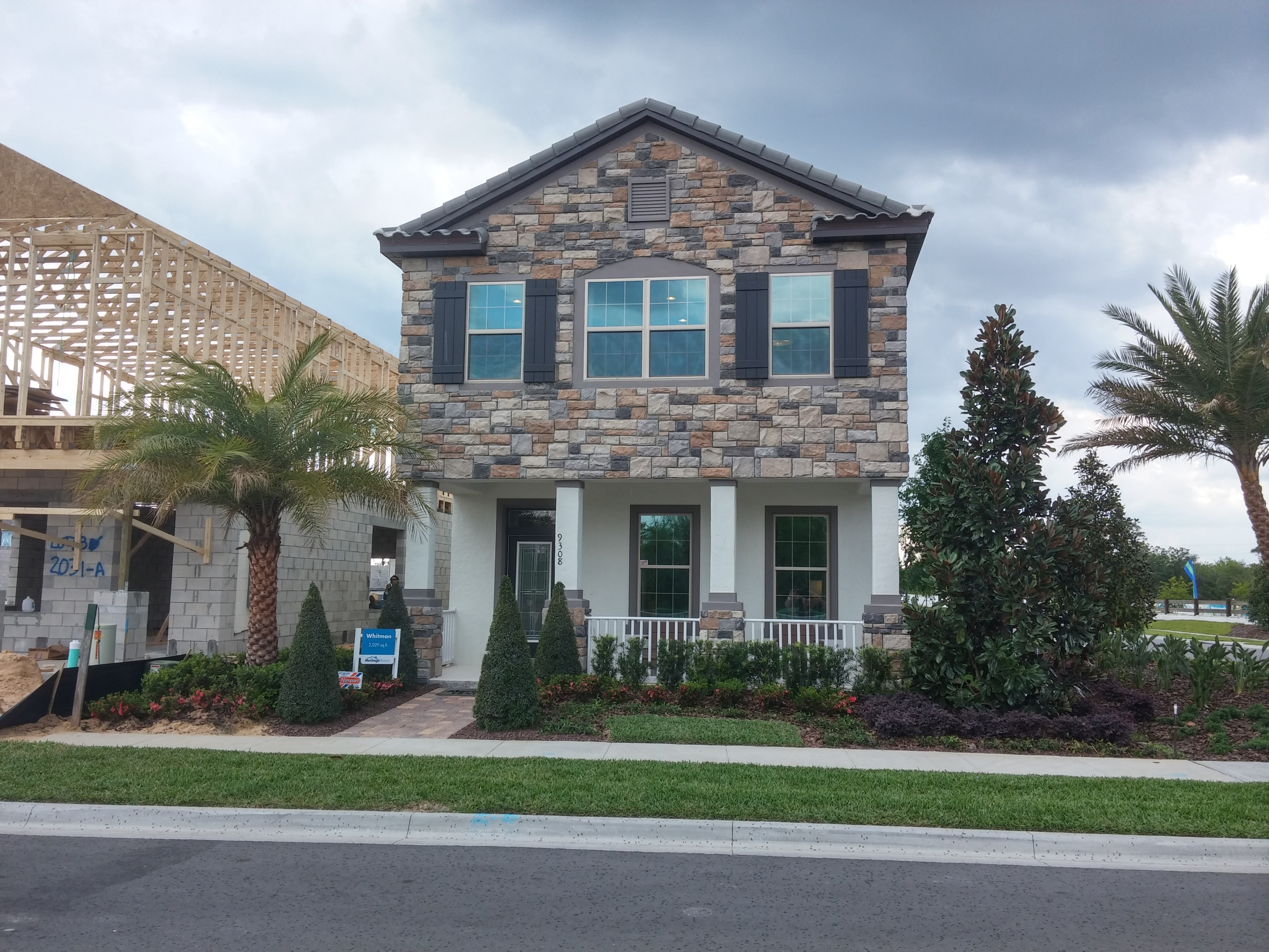 oakland trails winter garden by builder meritage homes