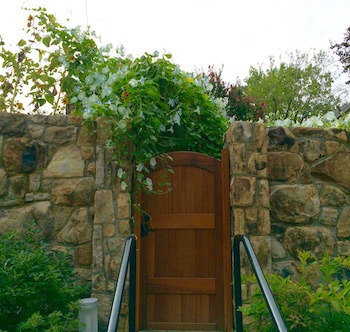 Bethesda Maryland garden gate