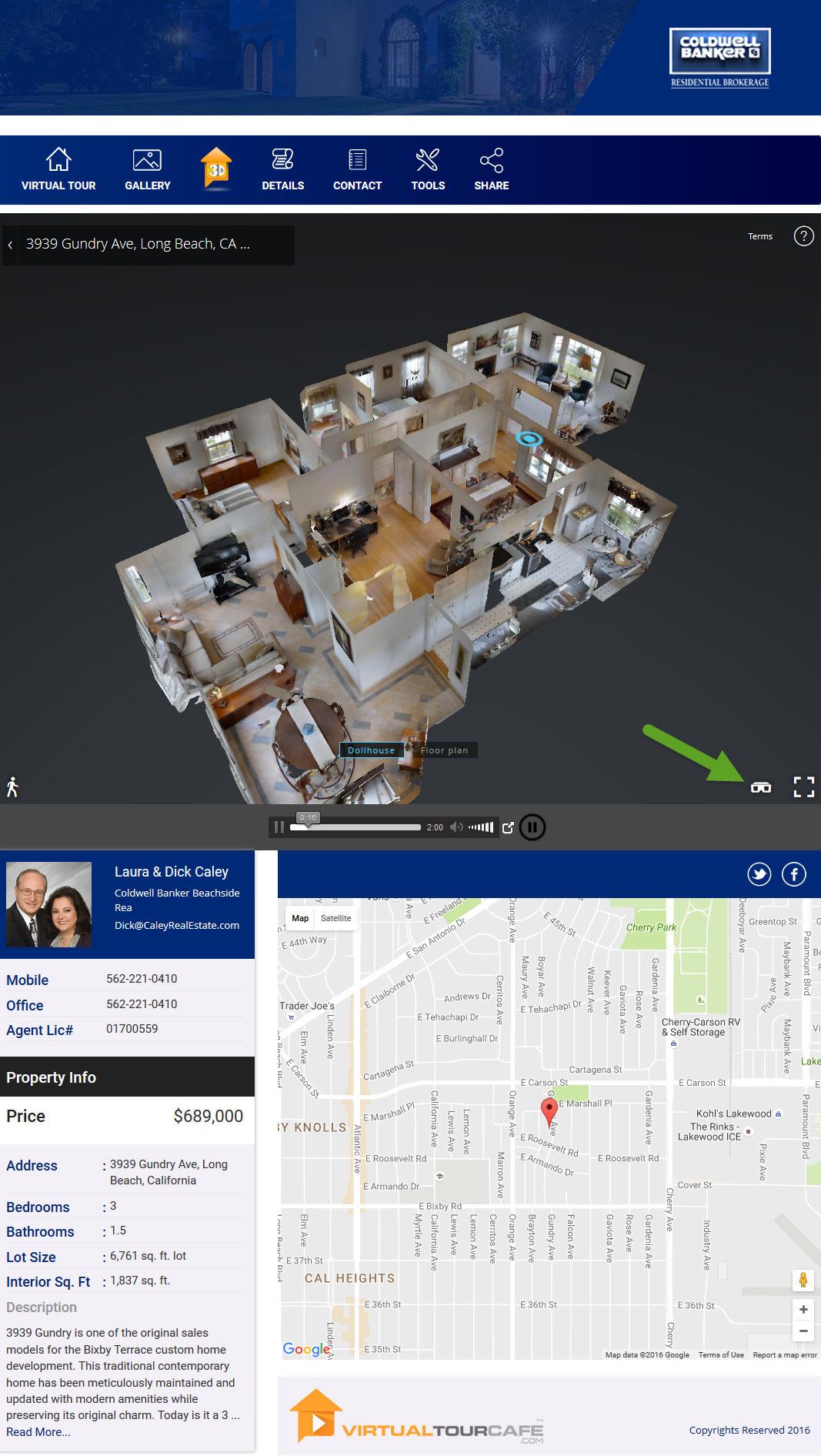Virtualtourcafe expands 3d walkthrough home tours to lo for Virtual house walkthrough