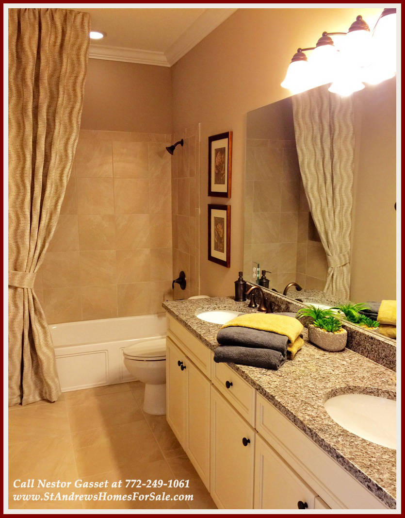 Brand new home in port st lucie fl for sale for Bathroom models photos